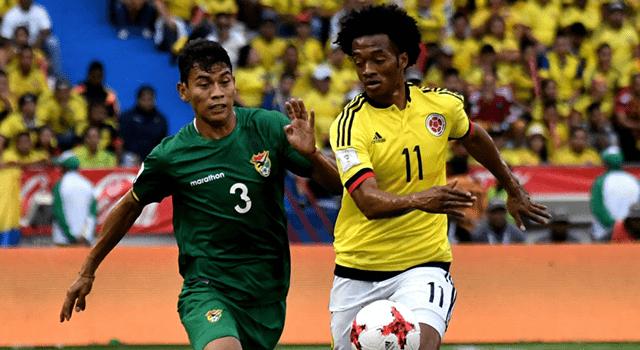 โคลัมเบีย 1-0 โบลิเวีย