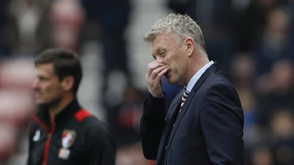 """มอยส์เศร้า! ขอโทษแฟนบอลหลัง """"ซันเดอร์แลนด์"""" ตกชั้นไม่ได้ไปต่อ"""