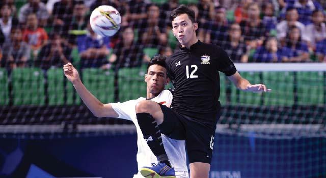 ฟุตซอลไทย U20 พ่าย อิรัก 3-7 คว้ารองแชมป์กลุ่มเอ