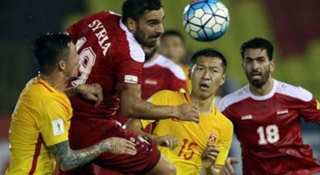 ไฮไลท์ฟุตบอล ซีเรีย 2-2 จีน