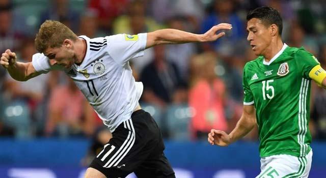 ไฮไลท์ฟุตบอล เยอรมัน 4-1 เม็กซิโก้