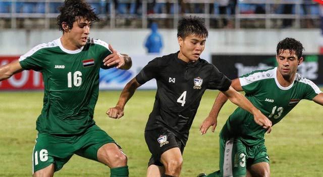 ไฮไลท์ฟุตบอล ทีมชาติไทย 1-1 ทีมชาติอิรัก