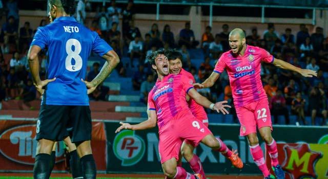 ไฮไลท์ฟุตบอล ประจวบ เอฟซี 3-2 หนองบัวพิชญ เอฟซี