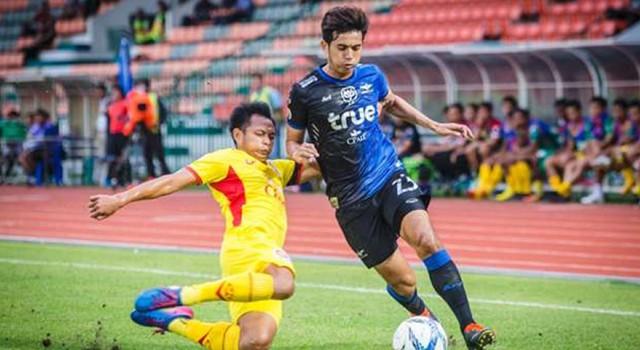 ไฮไลท์ฟุตบอล อาร์มี่ ยูไนเต็ด 0-3 แบงค็อก ยูไนเต็ด