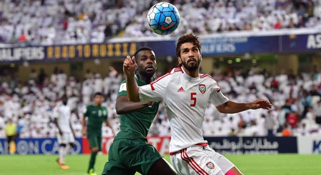 ไฮไลท์ฟุตบอล ยูเออี 2-1 ซาอุดิอาระเบีย