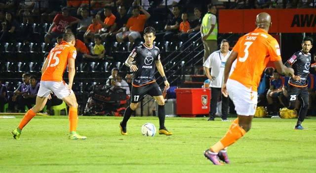 ไฮไลท์ฟุตบอล ราชบุรี มิตรผล เอฟซี 4-0 นครราชสีมา มาสด้า เอฟซี