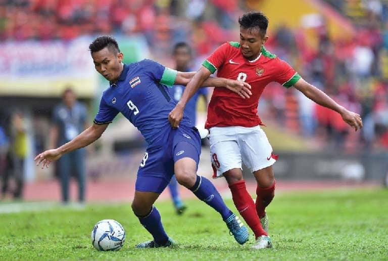 ช้างศึก ตีเสมอ อินโดนีเซีย 1-1 ในซีเกมส์