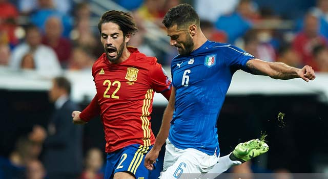ไฮไลท์ฟุตบอล สเปน 3-0 อิตาลี