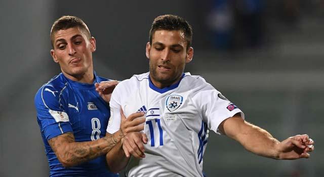 ไฮไลท์ฟุตบอล อิตาลี 1-0 อิสราเอล