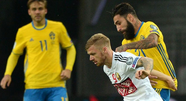 ไฮไลท์ฟุตบอล เบลารุส 0-4 สวีเดน
