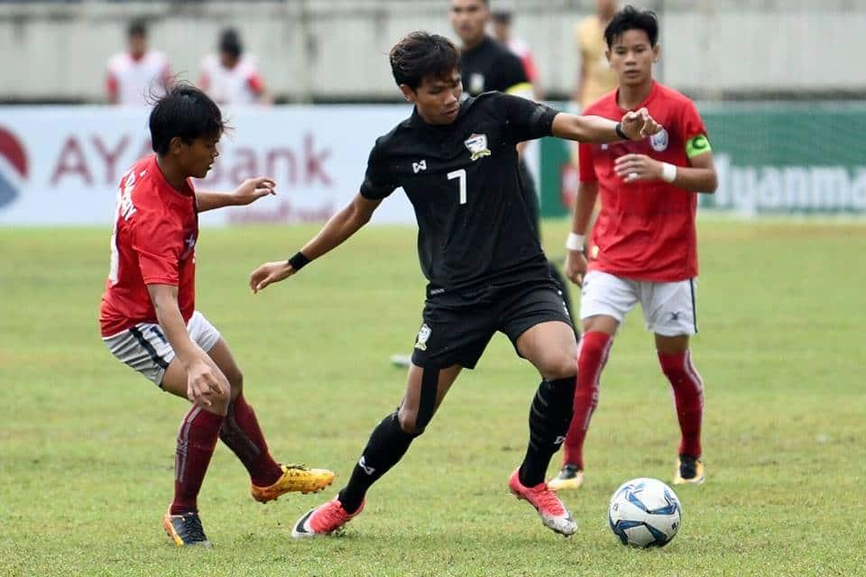 ไทย ยู 18 เฉือนหืด กัมพูชา 1-0 ในศึกชิงแชมป์อาเซียน