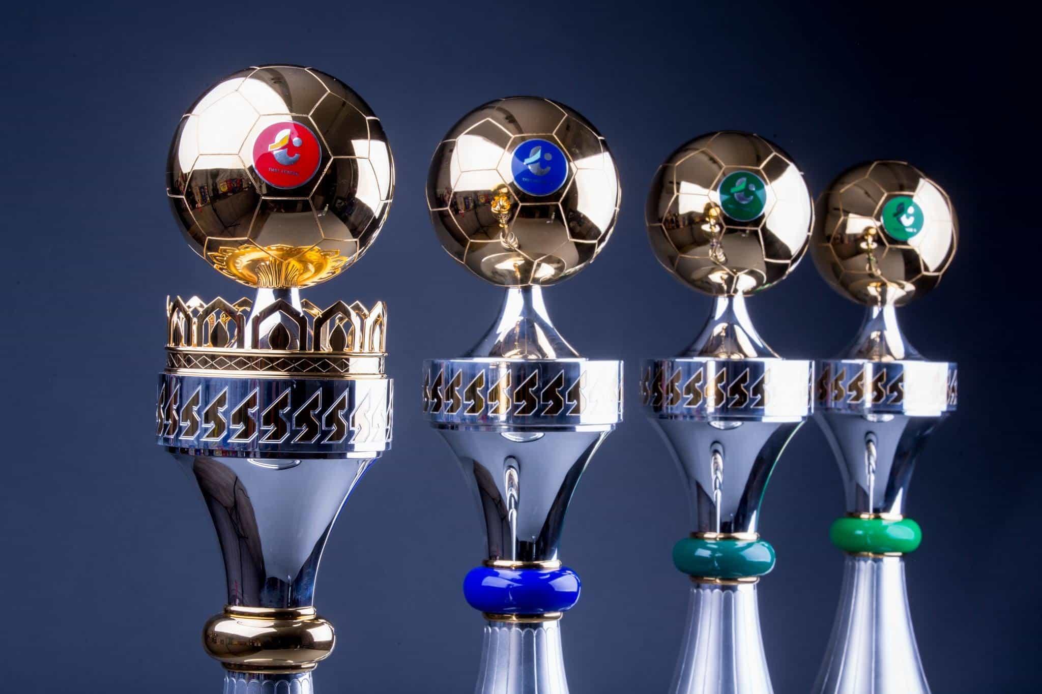 สมาคมฟุตบอลเปิดตัวถ้วยแชมป์ไทยลีก-เอฟเอคัพ ใช้งบกว่า 2 ล้านบาทเนรมิต
