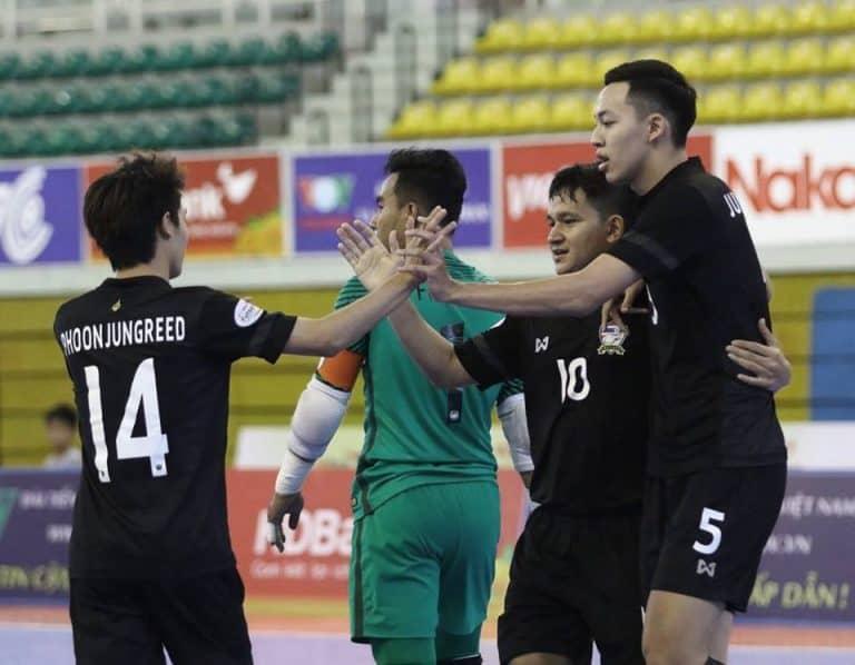 ฟุตซอลไทยอัดเสือเหลือง 6-3 ลิ่วรอบรองฯชิงแชมป์อาเซียน