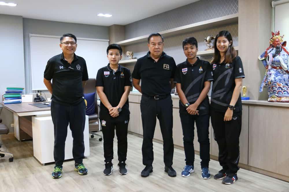 แก้ปัญหาว่างงาน! ส.บอลรับ 3 แข้งฟุตซอลหญิงไทย ร่วมงานสมาคมฯ
