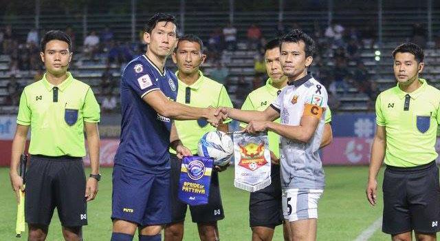 ไฮไลท์ฟุตบอล พัทยา ยูไนเต็ด 1-1 สุโขทัย เอฟซี