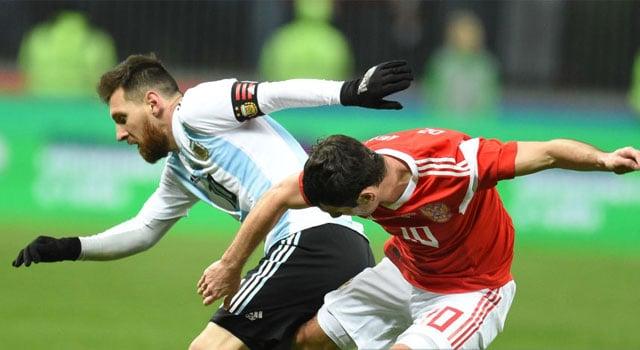 ไฮไลท์ฟุตบอล รัสเซีย 0-1 อาร์เจนติน่า