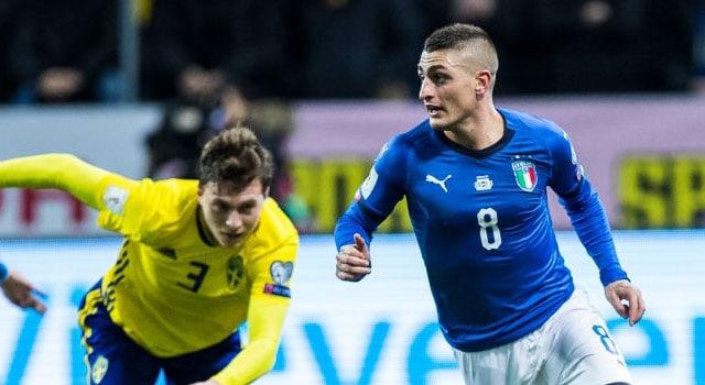 ไฮไลท์ฟุตบอล สวีเดน 1-0 อิตาลี่