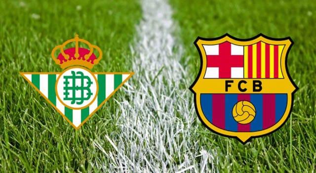 วิเคราะห์บอลคืนนี้ SBOBET ลาลีกา สเปน เรอัล เบติส – บาร์เซโลน่า