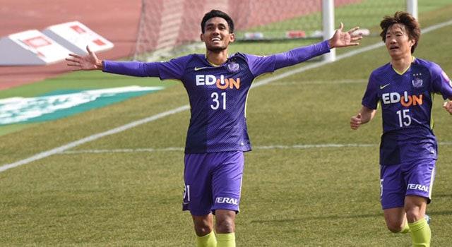 คนแรกของไทย มุ้ย ฮีโร่โขกพา ซานเฟรซเซ่ เปิดรังเฉือน ซัปโปโร 1-0
