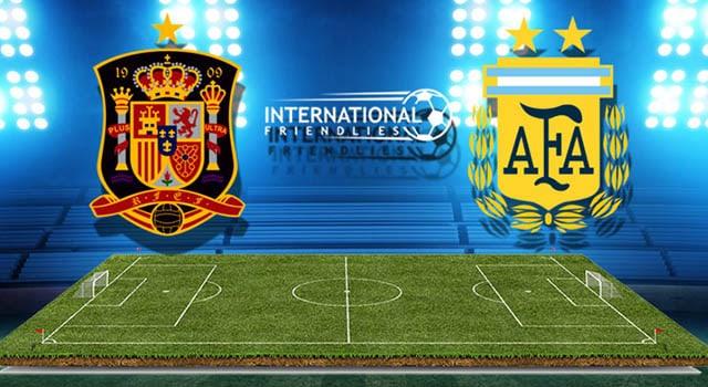 วิเคราะห์บอลคืนนี้ SBOBET กระชับมิตรทีมชาติ สเปน – อาร์เจนติน่า