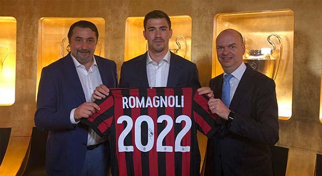 มิลาน ขยายสัญญา โรมันญอลี่ จนถึงปี 2022